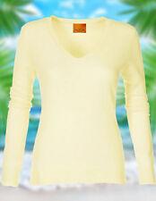 Feine Langarm Damen-Pullover aus Kaschmir