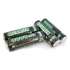 4 PI�ˆCES AA LR6 2A 1.2V 3000mAh Ni-Mh Pile Rechargeable RC Go! Vert Noir