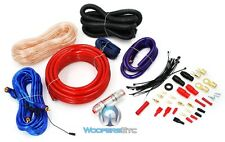 SPL 2000 WATTS PRO 4 GAUGE COMPLETE WIRING AMP KIT AMPLIFER CABLE WIRES RCA CORD