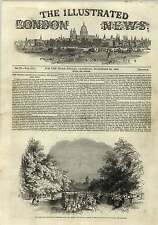 1843 National Charity For Homeless Poor Beginning Engraving