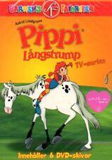 6 DVD Pippi Langstrumpf Långstrump SCHWEDISCH, Lindgren
