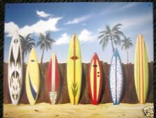New Vintage Retro Surfboard Westmoreland Start Line Up Tin Sign 12.5 H  X16 In
