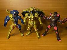 1993 Bandai Power Rangers LOT - 8 inch Goldar Goo Fish Rhinoblaster