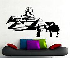 Egypt Pyramids Sphynx Wall Decal Camel Bedouin Vinyl Sticker Decor Mural (9eg)