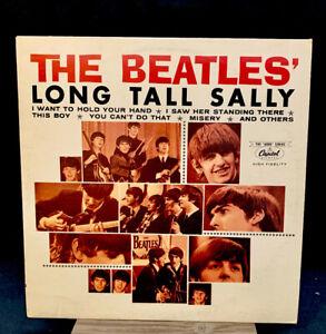 "The Beatles ""Long Tall Sally"" Vinyl ST-6063 (The ""6000"" Series)... 465a"