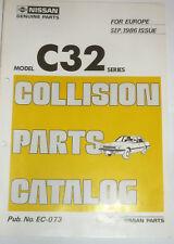 NISSAN Laurel C32 Ersatzteilkatalog, Parts Calalog, deutsch english FR Oldtimer