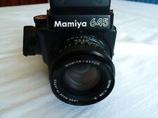 Mamiya M645 Super Medium Format SLR Film Camera with 80mm Lens