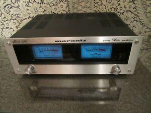 Marantz 140 stereo amp power amplifier vintage 1970's power meters