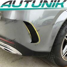 Rear Bumper Canards Air Vent Trim Fit Benz GLE Coupe W167 C167 GLE350 GLE450