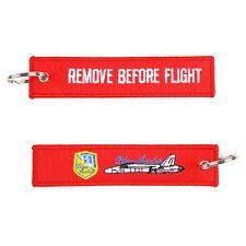 Porte-clés Remove before Flight Bleu Angels Force aérienne US Army Key Ring