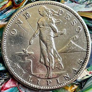 1907s Peso,U.S.-Philippines,KM# 172