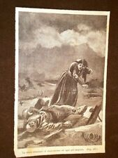 Giuseppe Garibaldi ed il risorgimento in Italia Morte e disperazione a Roma
