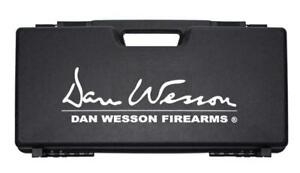 Dan Wesson Airsoft Revolver Weapon Pistol Polymer Carry Case Black 17365