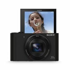 Sony DSCWX500 Black Digital Compact High Zoom Travel Camera