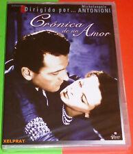 CRONACA DI UN AMORE / CRONICA DE UN AMOR italiano español DVD R2 Precintada