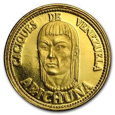 Venezuela 1.5 Gramos Gold De Oro Puro (Chiefs, Random)