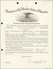 FRANK KNOX - MILITARY APPOINTMENT SIGNED 03/29/1941