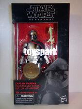 "STAR WARS Black Series 6"" CAPTAIN PHASMA QUICKSILVER BATON Toys R Us Exclusive"