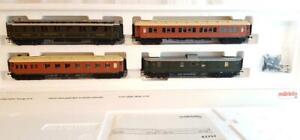 MARKLIN 42757 - Ex Ciwl DRG , Die Golden Twenties Express Coach Set mit Lichtern