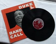 DUKE ELLINGTON & HIS ORCHESTRA ~ BAND CALL ~ VINYL LP ~ 1961 BIG BAND JAZZ/SWING
