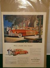 1948 The New Packard Station Sedan Color Advertisement