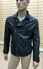 Emporio Armani Men's Perforated Leather Rider Jacket