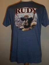 classic Football Film RUDY T-shirt, Large