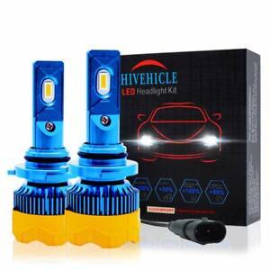 Led Headlight Bulbs 9005 Mini Size - HB3/H10 One Conversion Kit 6K Cool White