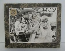 Vintage CENTRA FILM DORDRECHT ROY ROGERS Mounted Photo or Lobby Card