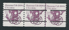 Scott #1904....10.9 Cent...Hansom Cab...Plate# Strip of 3...#1-2...Precancelled
