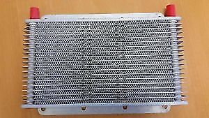 PWR Trans Oil Cooler - 280 x 150 x 19mm (-6 AN fittings) PWO0529
