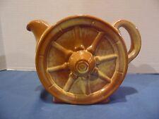 Frankoma Pottery Wagon Wheel Tea Pot Desert Gold # 94T