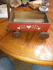 Doll wooden Wagon