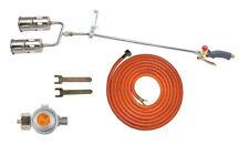 Gasbrenner 70kW / 850mm mit Druckminderer Dachbrenner Abflammgerät Brenner Neu