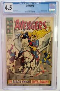 AVENGERS #48 (CGC 4.5) 1968 1st FULL DANE WHITMAN as the BLACK KNIGHT! SILVER