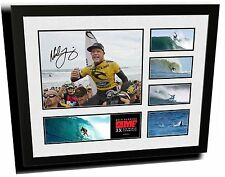 MICK FANNING SIGNED LIMITED EDITION FRAMED MEMORABILIA