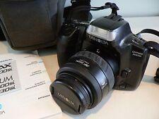VINTAGE MINOLTA DYNAX 300Si 35mm fotocamera con originale e manuale di istruzioni