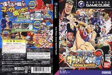 Used One Piece Grand Battle! Rush NINTENDO GAMECUBE GC JAPAN  JAPANESE JAPANZON