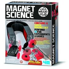 MAGNET SCIENCE KIT Magnetic toy Homeschool Experiments Fair Project Set