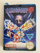 Megaman 3 Nintendo Entertainment System 1991 Complete PAL