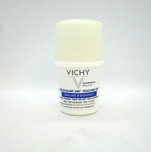 Vichy 24Hr Deodorant Dry Touch Roll-On  For Sensitive Skin ~ 50 ml / 50 g