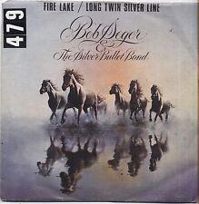 "BOB SEGER - Fire lake - VINYL 7"" 45 LP ITALY 1980 VG+ COVER VG- CONDITION"