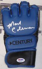 Mark Coleman Signed MMA Glove PSA/DNA COA 10 11 12 14 100 Pride FC 32 Autograph