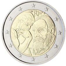 * LOT DE 5 PIECES -- 2 € COMMEMORATIVE - UNC - FRANCE 2017 - RODIN