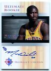 2005-06 Ultimate MARVIN WILLIAMS Auto RC Rare Redemption Platinum Holo Foil SP 5