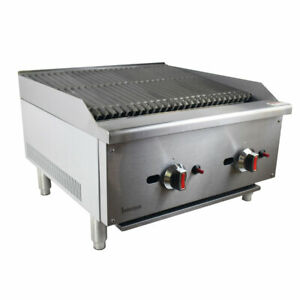 Commercial Char Grill/ Char Brolier Nat Gas  Heavy Duty NEW