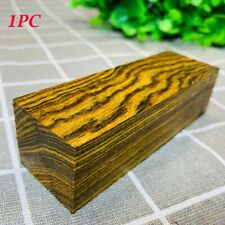 1Pc Knife Handle Scales Mexico Bocota Wood Blanks Making Plate DIY Material #JP