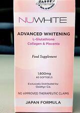 meilleur Glutathione nuwhite 1600 mg collagène Placenta Japon Formule