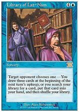 Library of Lat-Nam X1 EX/NM Classic 6th Edition MTG Magic Cards Blue Rare