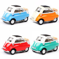Vintage 1:43 BMW Isetta 250 Model Car Alloy Diecast Toy Vehicle Collection Gift